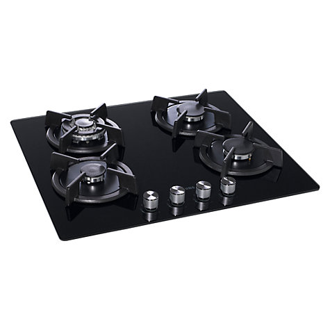 Buy Samsung GN642HFGD Gas Hob, Black Glass Online at johnlewis.com