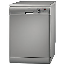Buy Zanussi ZDF3023S Dishwasher, Silver Online at johnlewis.com