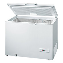 Buy Bosch GCM28AW30G Chest Freezer, A++ Energy Rating, 118cm Wide, White Online at johnlewis.com