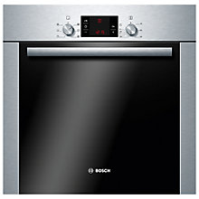 Buy Bosch Classixx HBA43B251B Single Electric Oven, Brushed Stainless Steel Online at johnlewis.com