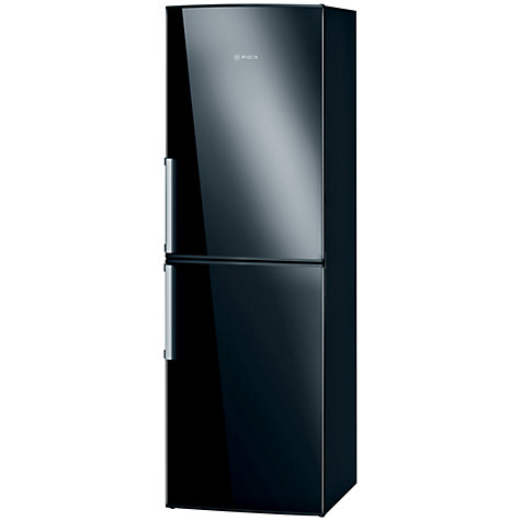 Buy Bosch KGN34VB20G Fridge Freezer, A+ Energy Rating, 60cm Wide, Black Online at johnlewis.com