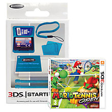 Buy Mario Tennis Open, 3DS with Stylus Pack Online at johnlewis.com