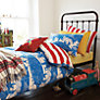 Buy Joules Circus Single Duvet Cover, Blue Online at johnlewis.com