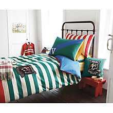 Buy Joules Rugby Standard Pillowcase, Multi Online at johnlewis.com