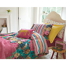 Buy Joules English Garden Standard Pillowcase, Pink Multi Online at johnlewis.com