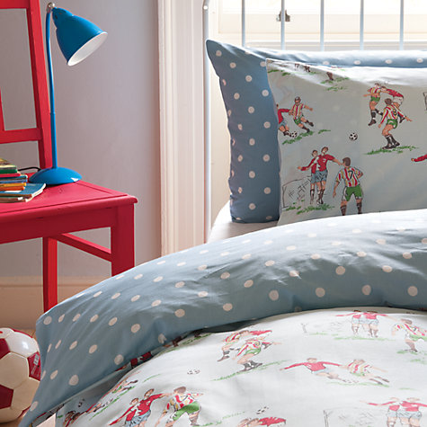 Buy Cath Kidston Footie Single Bedding Online at johnlewis.com