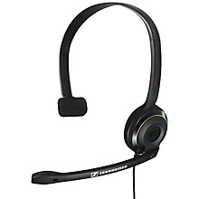 Buy Sennheiser X2 Headset for Xbox 360, Black Online at johnlewis.com