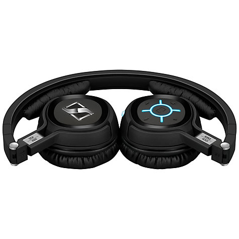 Buy Sennheiser MM450-X On-Ear Noise Cancelling Bluetooth Headphones, Black Online at johnlewis.com
