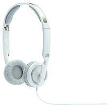 Buy Sennheiser PX200-II On-Ear Headphones, White Online at johnlewis.com