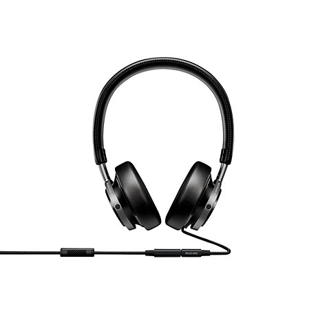 Buy Philips Fidelio M1/00 Full Size Headphones, Black Online at johnlewis.com