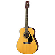 Buy Yamaha GF310 Acoustic Guitar, Natural with Accessories Online at johnlewis.com