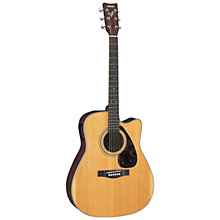 Buy Yamaha GFX370C Electro-Acoustic Guitar, Natural Online at johnlewis.com