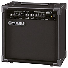 Buy Yamaha GA-15 15 Watt Guitar Amplifier, Black Online at johnlewis.com