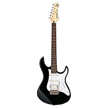 Buy Yamaha Pacifica 012 Electric Guitar, Black Online at johnlewis.com