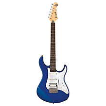 Buy Yamaha Pacifica 012 Electric Guitar, Blue Online at johnlewis.com