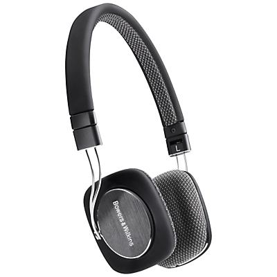 Bowers & Wilkins P3 OnEar Headphones Black