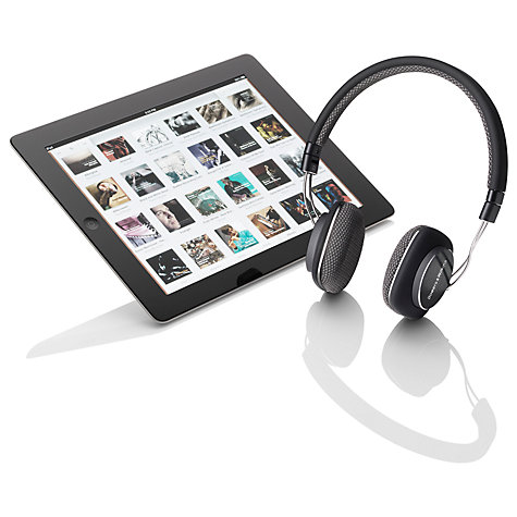 Buy Bowers & Wilkins P7 Over Ear Headphones with Mic/Remote Online at johnlewis.com
