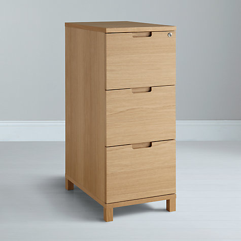 Buy John Lewis Abacus 3 Drawer Filing Cabinet Online at johnlewis.com