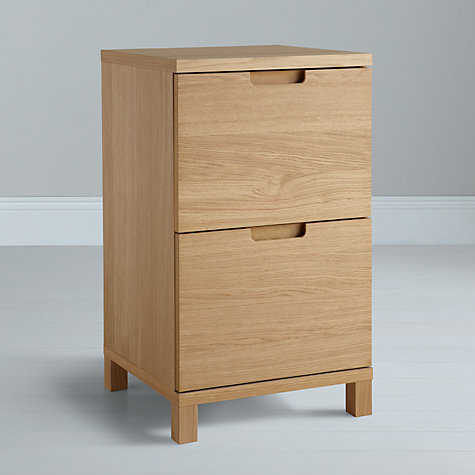 Buy John Lewis Abacus Narrow Filing Cabinet Online at johnlewis.com