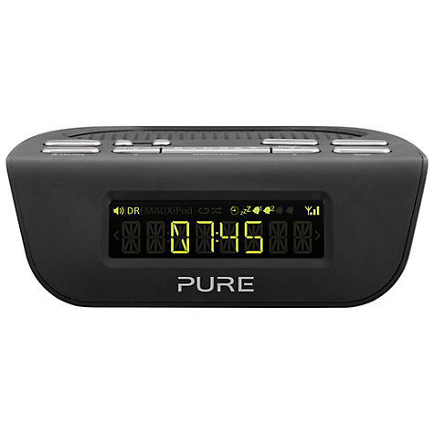 Buy Pure Siesta Mi Series 2 DAB/FM Digital Clock Radio Online at johnlewis.com