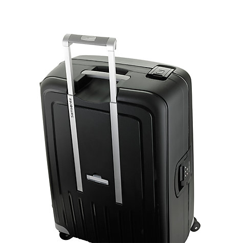 Buy Samsonite S-Cure 4-Wheel 69cm Medium Suitcase, Black Online at johnlewis.com