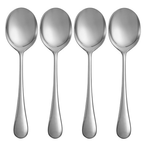 Buy Jme Baloo Soup Spoons, Set of 4 Online at johnlewis.com