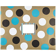 Buy Posh Post Padded Envelope, Big Dots, Large Online at johnlewis.com