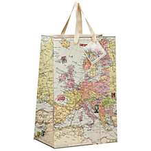 Buy Wild and Wolf Maps Gift Bag, Medium Online at johnlewis.com