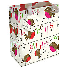 Buy Caroline Gardner Robin Gift Bag, Small Online at johnlewis.com