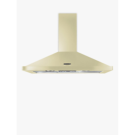 Buy Rangemaster LEIHDC90CR/C Chimney Cooker Hood, Cream Online at johnlewis.com