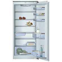 Buy Bosch KIR24A65 Integrated Larder Fridge, A++ Energy Rating, 54cm Wide Online at johnlewis.com