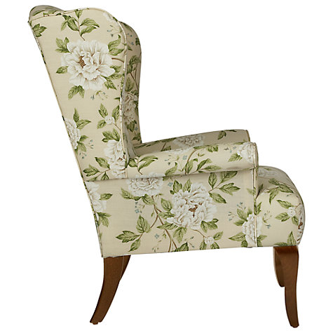 Buy John Lewis Shaftesbury Armchair, Sanderson Peony Blue Online at johnlewis.com