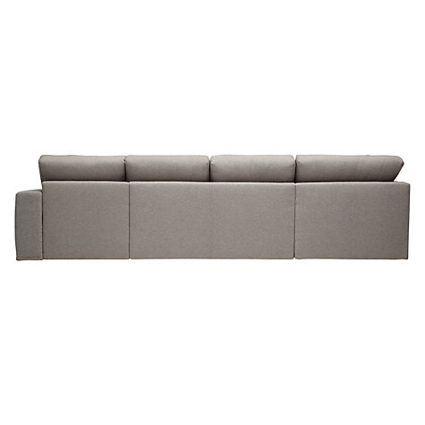 Buy House by John Lewis Finlay Grand Corner Chaise End Sofa, Quinn Blue Grey Online at johnlewis.com