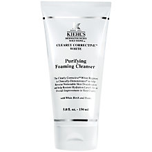Buy Kiehl's Clearly Corrective White Cleanser, 150ml Online at johnlewis.com