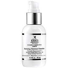 Buy Kiehl's Clearly Corrective White Emulsion, 50ml Online at johnlewis.com