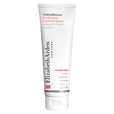 shop for Elizabeth Arden Visible Difference Skin Balancing Exfoliating Cleanser, 125ml at Shopo