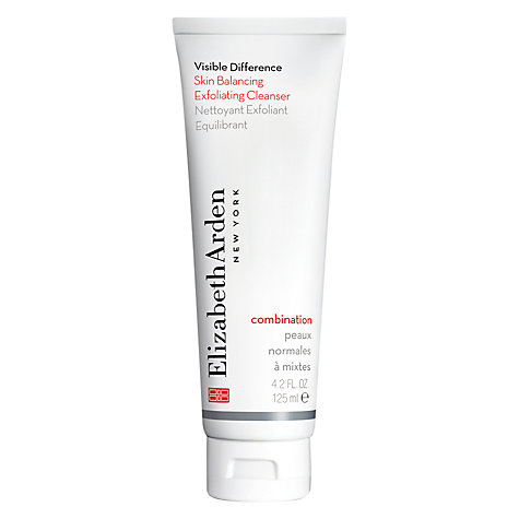 Buy Elizabeth Arden Visible Difference Skin Balancing Exfoliating Cleanser, 125ml Online at johnlewis.com