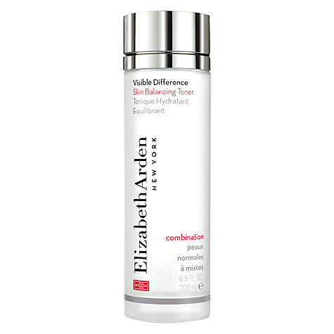 Buy Elizabeth Arden Visible Difference Skin Balancing Toner, 200ml Online at johnlewis.com