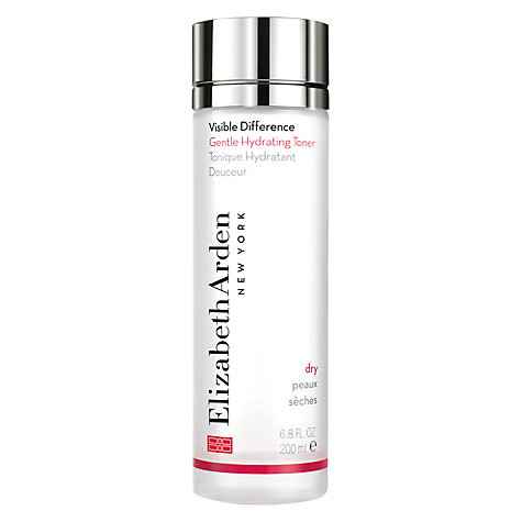 Buy Elizabeth Arden Visible Difference Gentle Hydrating Toner, 200ml Online at johnlewis.com