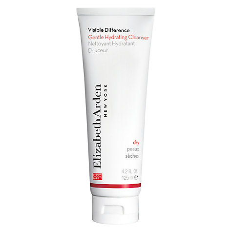 Buy Elizabeth Arden Visible Difference Gentle Hydrating Cleanser, 125ml Online at johnlewis.com