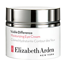 Buy Elizabeth Arden Visible Difference Moisturizing Eye Cream, 15ml Online at johnlewis.com