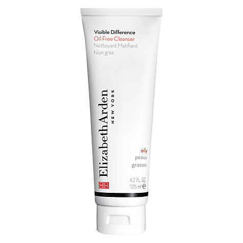 Buy Elizabeth Arden Visible Difference Oil-Free Cleanser, 125ml Online at johnlewis.com