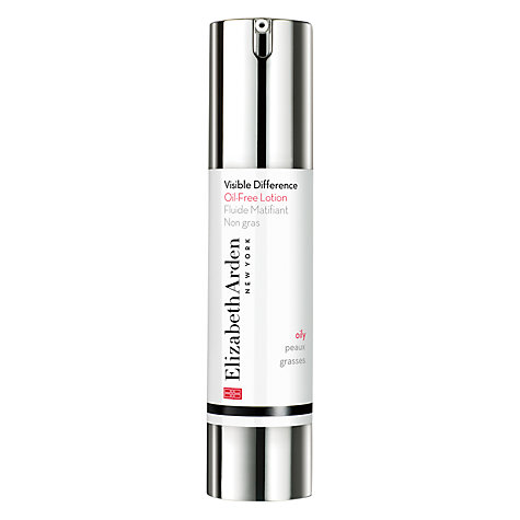 Buy Elizabeth Arden Visible Difference Oil-Free Lotion, 50ml Online at johnlewis.com