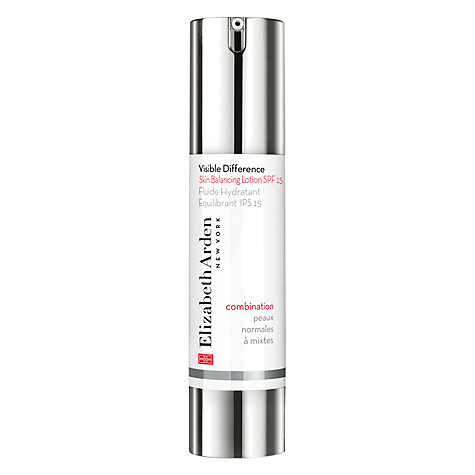Buy Elizabeth Arden Visible Difference Skin Balancing Lotion SPF 15, 50ml Online at johnlewis.com