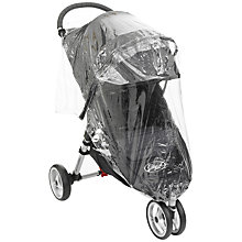 Buy Baby Jogger City Mini GT Raincover, Single Online at johnlewis.com