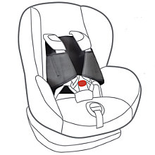 Buy The Essential Parenting Company 5-Point Plus Harness Anti-Escape Child Car Seat Harness Online at johnlewis.com