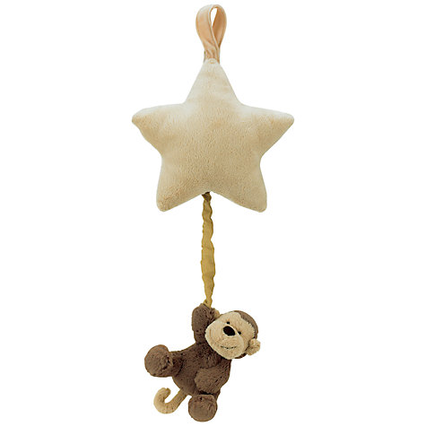 Buy Jellycat Bashful Monkey Musical Pull Toy Online at johnlewis.com
