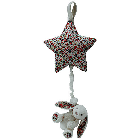 Buy Jellycat Bashful Bunny Musical Pull Toy Online at johnlewis.com