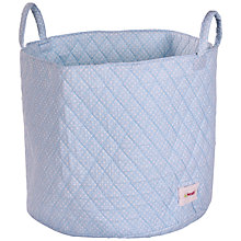 Buy Minene Large Dots Storage Bag, Blue/White Online at johnlewis.com