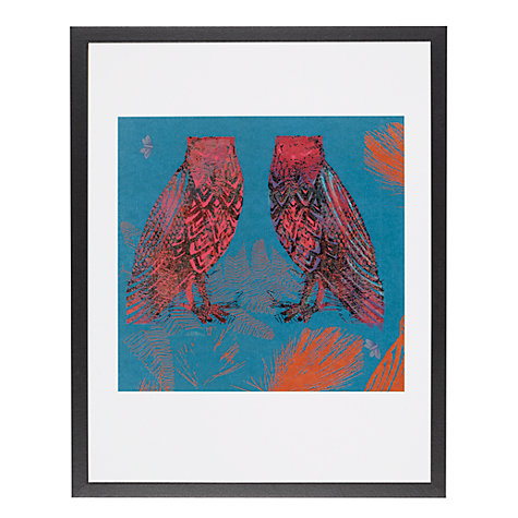 Buy House by John Lewis, Tiffany Lynch - Owls Unframed Print, 30 x 40cm Online at johnlewis.com